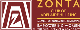 ZONTA Club of Adelaide Hills Logo