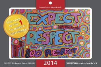 Expect Respect 2014 Calendar