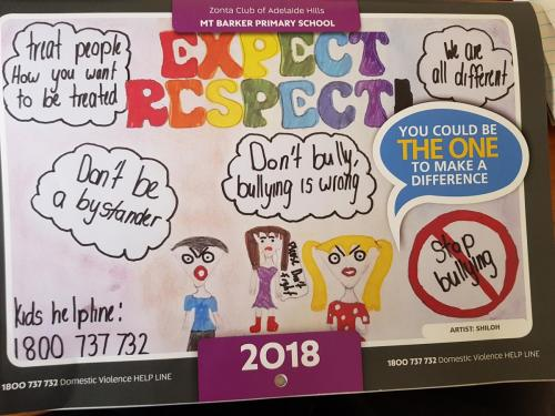 Zonta - Adelaide Hills -Expect Respect 2018